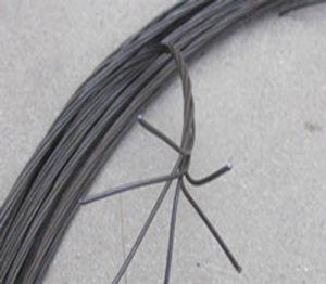Collegare nero temprato molle Twisted del ferro della barra di ferro del materiale da costruzione