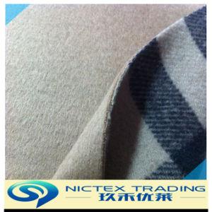 Тканый шерстяной двухсторонний шерстяной ткани
