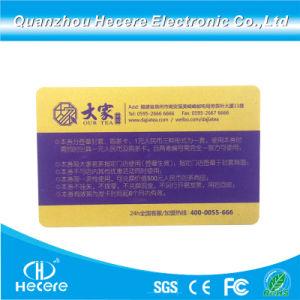Kaart van de Kiezers van de Kaart van het Lidmaatschap van de Kaart van de Markering van de Kaart 13.56MHz MIFARE Ultralight EV1 RFID van identiteitskaart van pvc van de goede Kwaliteit de Plastic Slimme