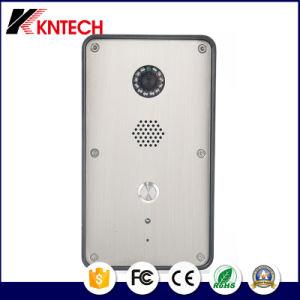Knzd-47 двери видео SIP телефон домофон Добро пожаловать система селекторной связи в чрезвычайных ситуациях