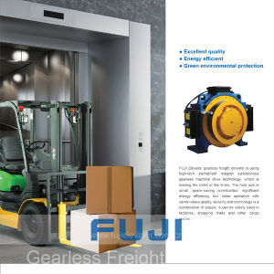 Fuji 2000kg Car Elevator Cargo Lift Freight Elevator for Sale