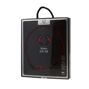 Новая конструкция гибкие возможности беспроводной технологии Bluetooth стерео наушников с шейным ободом спорта магнитных гарнитуры