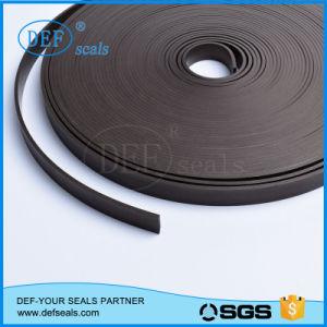 A cor preta de PTFE preenchida com fita de guia de carbono