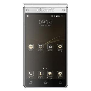 4.2'' Tela Dupla Design Flip 4G Smart Android7.0 Teclado de telefone celular Telefone Celular