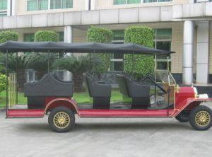 11 lugares Handmake Retro Modelo T Aluguer Automóvel Clube de 48V