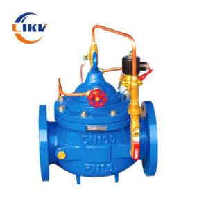 Válvula de control de flujo de agua / Control remoto la válvula de flotador/Lento cerrando la válvula de retención