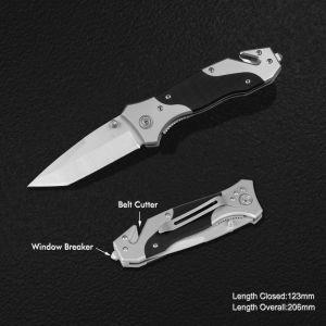 Cuchillo de supervivencia con el G10 asa (#3803)