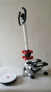 Mini Stepper met Handvat Bar&Dumbells