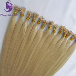 Louro claro #613 Os Remy Nano Ring Extensão de cabelo