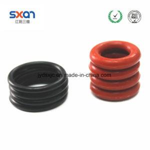 Vmq Ring-sich hin- und herbewegende Dichtungs-Silikon-Gummi-Ring-Metallgesichts-Dichtung