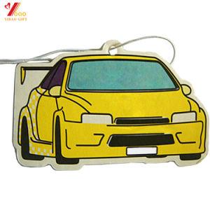 De 2017, regalos promocionales de papel colgando mejores aromas carretilla Ambientador de coche sabor Perfume (YB-AF-11)