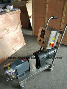 Pompe de transfert de cosmétiques en acier inoxydable