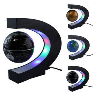 L Air De Levitation Magnetique Globe Avec Les Lampes Led Flottante