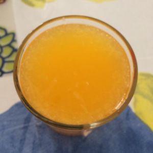 450ml Jus d'Orange flottant naturel avec 10 % de jus et de 6 % de véritables pâtes