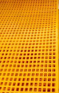 Vibration en polyuréthane de fabrication /tamis de maille de filtre à sable Stone Quarry écran pour l'écran de la mine, forte de la grille à mailles