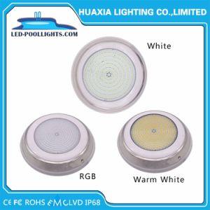 Indicatore luminoso subacqueo 316ss 12V LED della piscina fissata al muro bianca di IP68