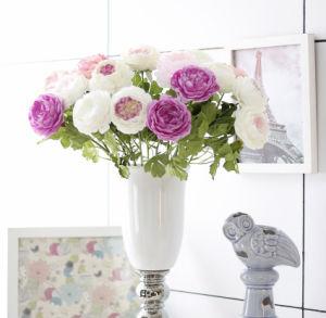 装飾のためのローズの絹の人工的な花