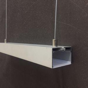 Profiel van het LEIDENE Aluminium van de Tegenhanger het Lichte