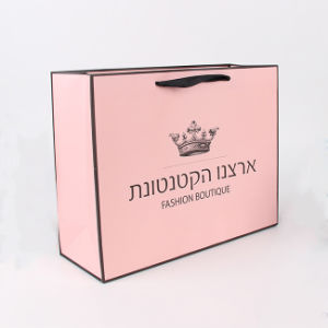 Роскошный сумку для нестандартного формата бумаги Сувениры/бумажный мешок для одежды