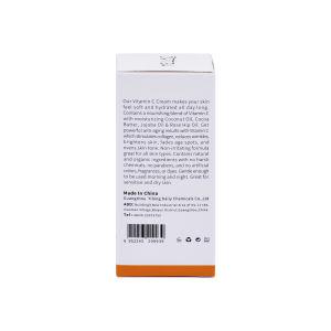 De Organische Ingrediënten van de Room van de Hand van de Vochtinbrengende crème van het Gezicht van de Veganist van de Room van de vitamine C