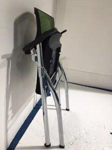 中国のオフィス用家具メモ帳が付いている折られた学生のトレーニングの調査の椅子