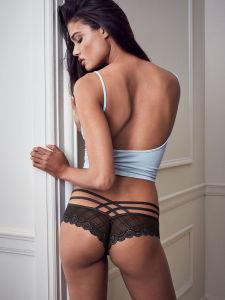 Hot Sale creux dentelle transparente Mesdames Lingerie Sexy femmes Panty