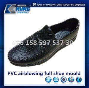 Venta caliente del molde de aluminio PVC aire de soplado molde zapato completo