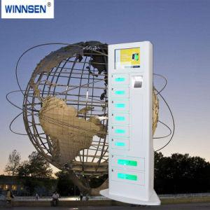 Caricabatteria delle cellule con il chiosco della Banca di potere del telefono delle cellule di memoria per il ristorante