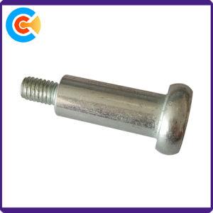 Углеродистая сталь M6 с шестигранной головкой под торцевой ключ (шестигранный) покрытие цинк винт с буртиком
