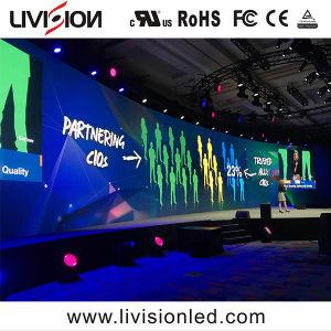 高品質の生演奏ショーのためにスクリーンを広告する屋内イベントの使用料LEDのビデオ・ディスプレイP3.9/4.8 LED