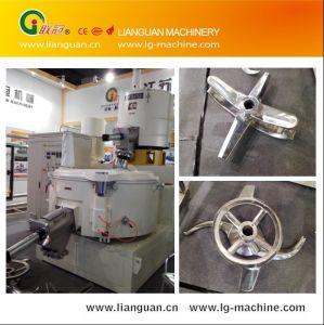 Polvere di plastica Turbo/miscelatore ad alta velocità di raffreddamento di standard europeo PVC/SPVC del miscelatore