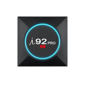 I 92 PROAndroid Fernsehapparat-Kasten Amlogic S905X 1GB Speicher des Speicher-8GB mit Support 4K HD der Digitalanzeigen-2.4GHz WiFi