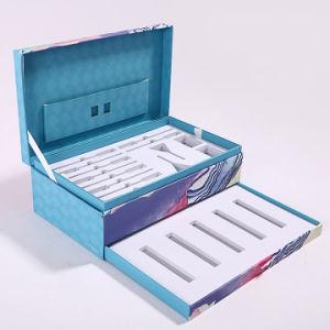 El lujo de papel cartón de colores impresos personalizados cosmética maquillaje perfumes de Verificación de regalo