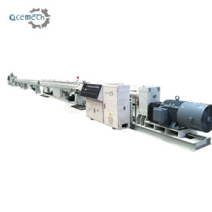 Selling 최신 40-160mm PE Plastic Pipe Single Screw Extruder