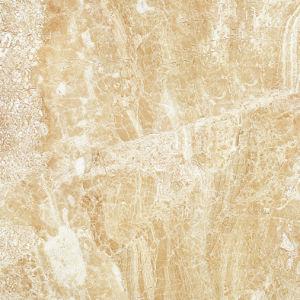 De beige Kleur van de Luxe poetste Verglaasde Porselein & Ceramiektegel voor Muur en Vloer op