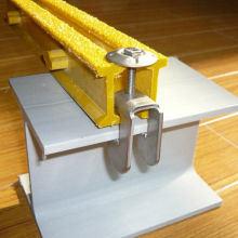 Les colliers de grillage en fibre de verre/ Acier inoxydable 316 G Clip, couvercle de la rondelle