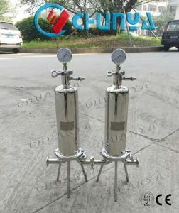 1r10  ha lucidato il filtro sanitario dalla cartuccia della strumentazione del filtrante