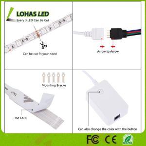 Tuya APP Contorlled WiFi RGB Smart Cuerda flexible de luz LED Impermeable IP65 Stirp luz para la decoración de Navidad