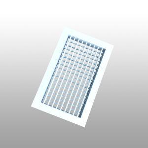 Suprimento de Ar ajustável Grelha Deflexão duplo difusor de ar Fornecedor da China
