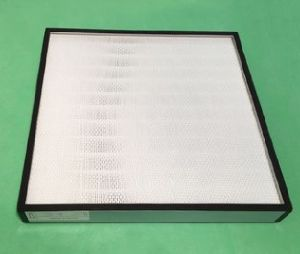 Filtro de aire HEPA sin separador para limpiar la habitación desde el fabricante de China