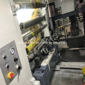 Motor de tres 8 máquina de impresión huecograbado de color con la velocidad de 160m/min.