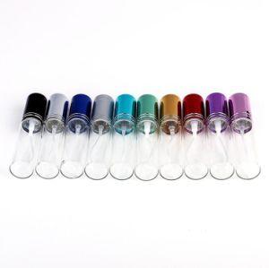 10ml Mini Fashion bouteille de parfum en verre transparent voyage portable atomiseur De Parfum Vaporisateur Conteneur de cosmétique