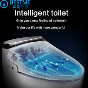 Casa de banho com WC de Cerâmica Sanitária Wc Automático Cobrir Bc-822