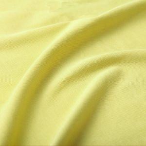 Tejido de felpa para tejido de punto de moda Slub de una sola Jersey TC 65/35 Terry Camisetas