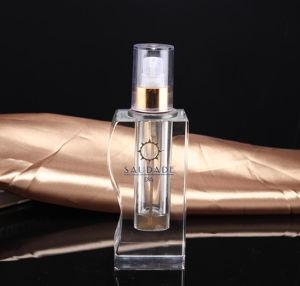 Nuevo diseño de cristal Botella de Perfume Artesanía (KS24062)