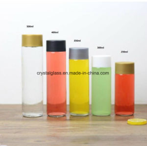 350ml 400ml 500ml de suco de água de bebida garrafas de plástico com tampa roscada