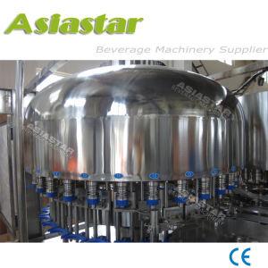 Água mineral da garrafa plástica de estanqueidade de enchimento de enxágüe o preço da máquina