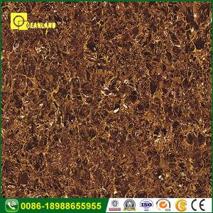 中国の新製品の白いアイボリーの大理石の磨かれた磁器の床タイル