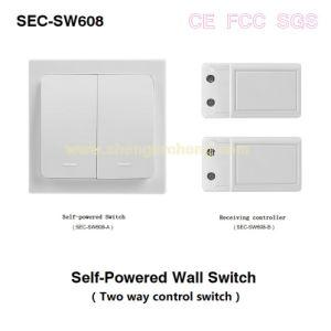 Wireless Autoalimentado electrodomésticos Wall-Switch Control (S-SW608)