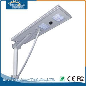 25W алюминия для использования вне помещений Встроенный светодиодный индикатор солнечной улице света - все в одном